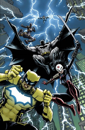 Batman and the Outsiders #7 Var