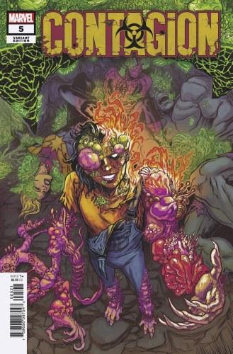 Contagion #5 (of 5) Browne Var