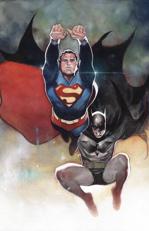 Batman Superman #4 Card Stock
