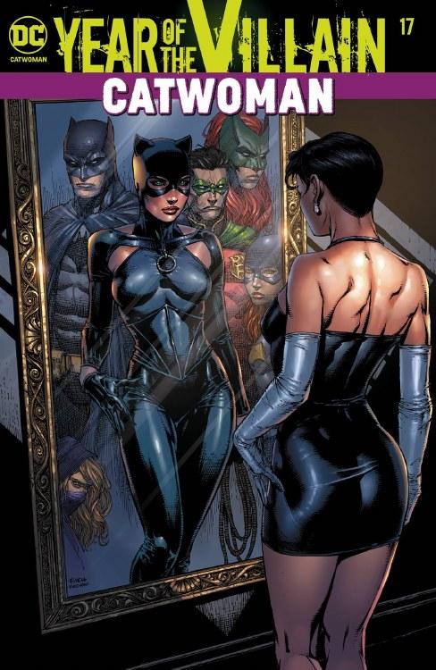 Catwoman #17 Yotv Acetate