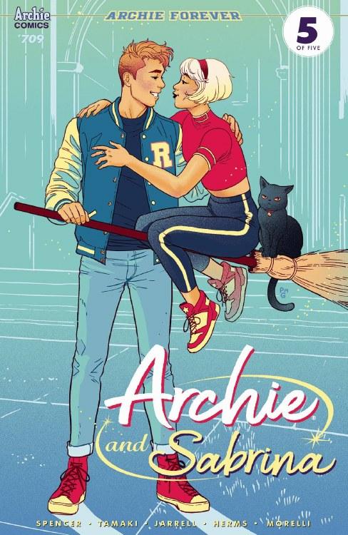 Archie #709 (Archie and Sabrina Pt 5) Cvr B Ganucheau