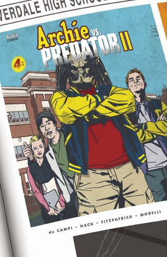 Archie Vs Predator 2 #4 (of 5) Cvr B Smith