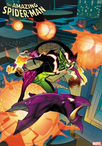 Amazing Spider-Man #34 Ferry 2099 Var