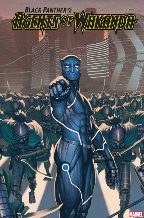 Black Panther and the Agents of Wakanda #3 Rock He Kim 2099 Var
