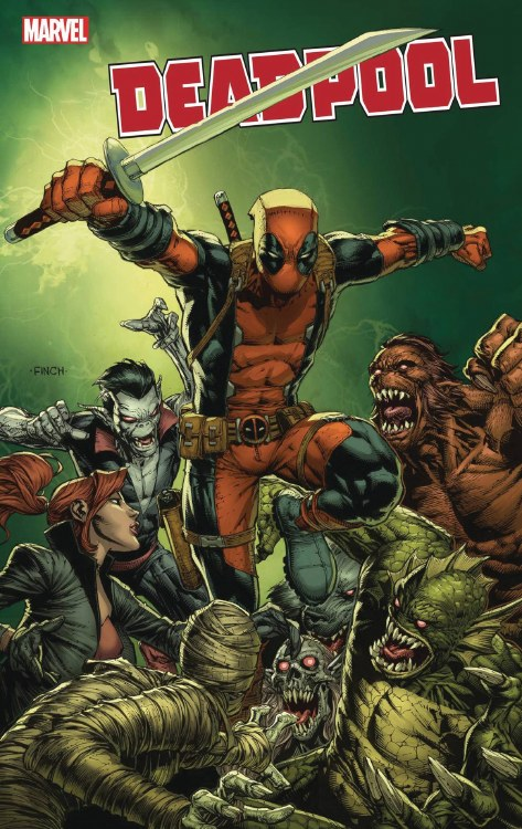 Deadpool #1 Finch Var