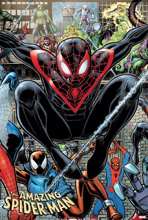 Amazing Spider-Man #34 Adams 8-Part Connecting Var 2099