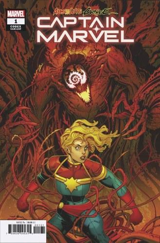 Absolute Carnage Captain Marvel #1 Bradshaw Codex Var