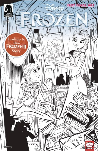 Disney Frozen True Treasure #1 (of 3) Cvr A Kawaii Studio