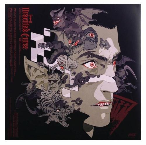 Castlevania 3 Draculas Curse Original Soundtrack OST 2x 12in LP