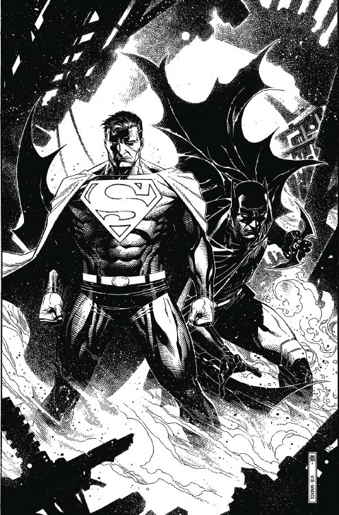 Batman Superman #5 Card Stock