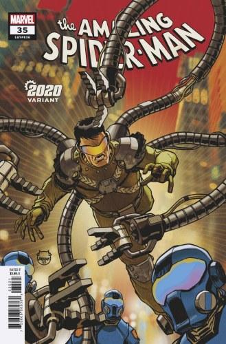 Amazing Spider-Man #35 Johnson 2020 Var 2099