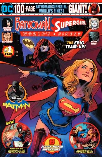 Batwoman Supergirl Worlds Finest Giant #1