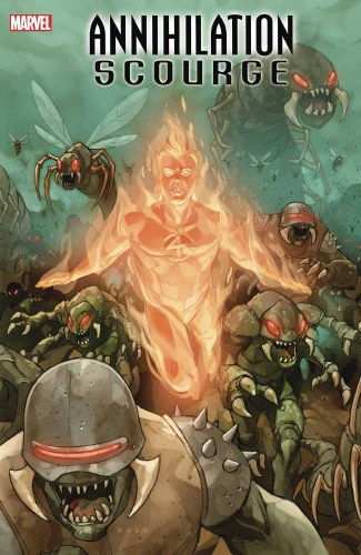 Annihilation Scourge Fantastic Four #1 Noto Var