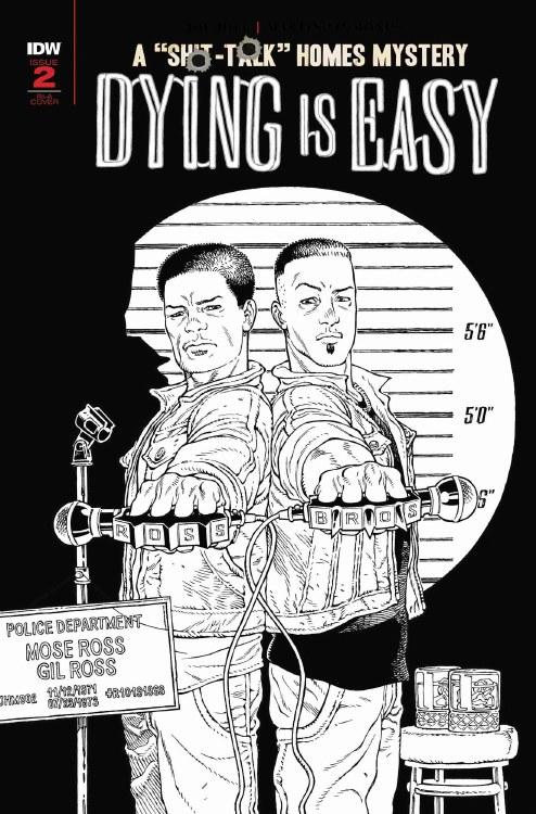 Dying Is Easy #2 (of 5) Rodriguez B&W 10 Copy Incv Var