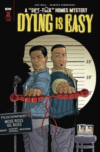 Dying Is Easy #2 (of 5) Cvr B Rodriguez