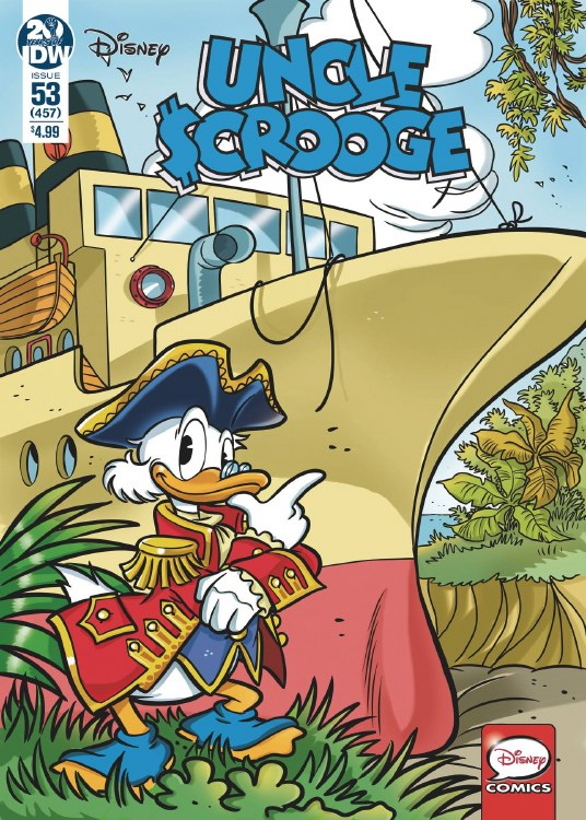 Uncle Scrooge #153 Cvr A Mazzarello