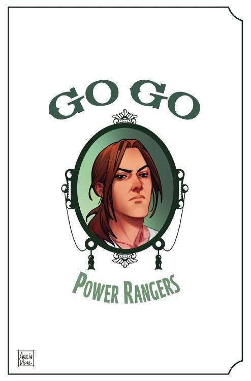 Go Go Power Rangers #27 Cvr B Mercado