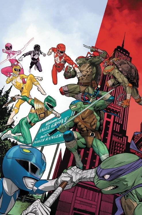 Power Rangers Teenage Mutant Ninja Turtles #2 Cvr A Mora