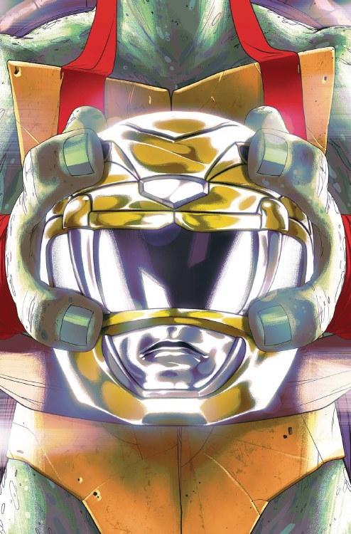 Power Rangers Teenage Mutant Ninja Turtles #2 Raph Montes