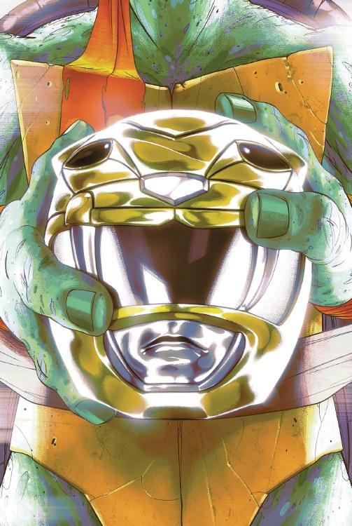 Power Rangers Teenage Mutant Ninja Turtles #2 Mikey Montes
