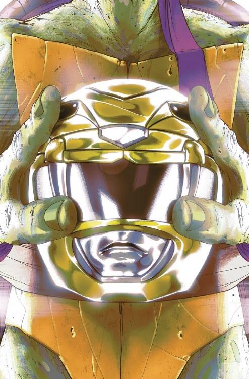 Power Rangers Teenage Mutant Ninja Turtles #2 Don Montes