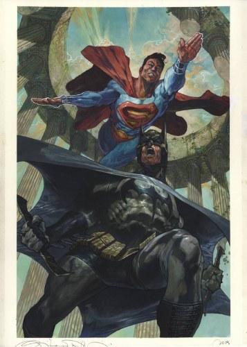 Batman Superman #6 Card Stock Var