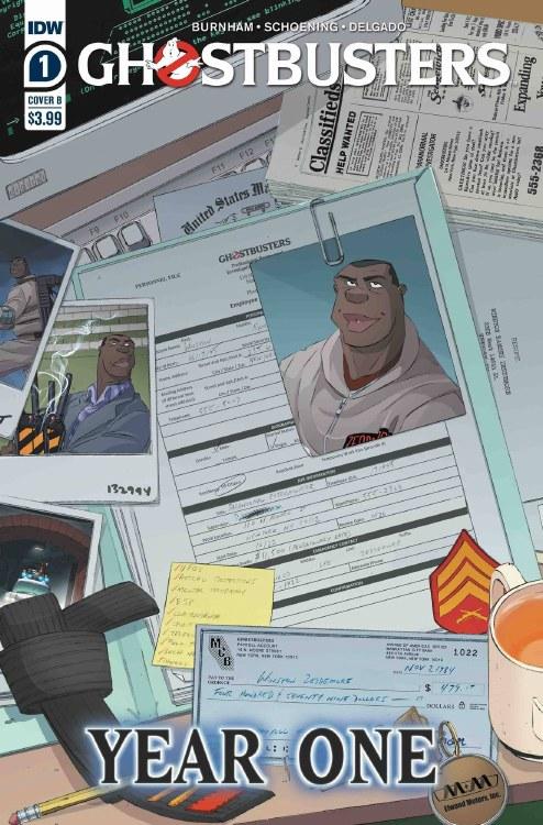 Ghostbusters Year One #1 (of 4) Cvr B Schoening