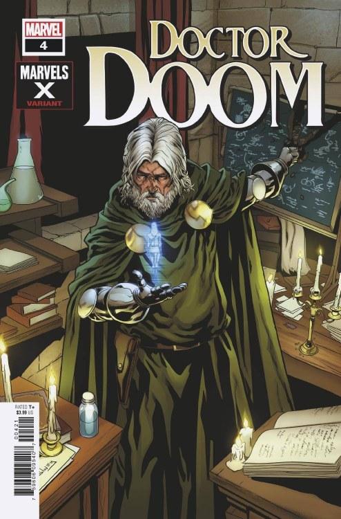 Doctor Doom #4 Sliney Marvels X Var