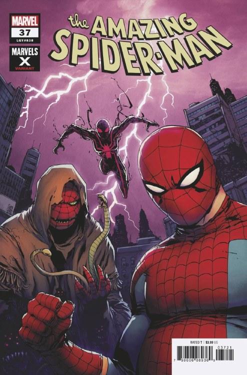 Amazing Spider-Man #37 Camuncoli Marvels X Var 2099