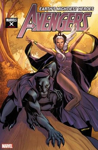 Avengers #29 Lupacchino Marvels X Var