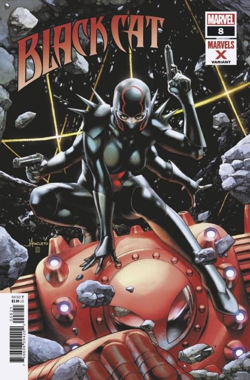 Black Cat #8 Anacleto Marvels X Var