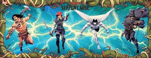 Conan Serpent War #3 (of 4) Camuncoli Connecting Var