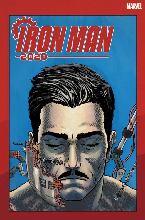 Iron Man 2020 #1 (of 6) Superlog Heads Var