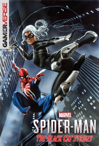Marvels Spider-Man Black Cat Strikes #1 (of 5) Granov Game Var