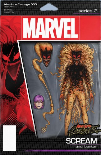 Absolute Carnage #5 (of 5) Christopher Action Figure Var