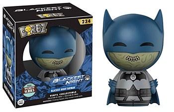 Dorbz Specialty Series Blackest Night Batman Vinyl Damaged Box