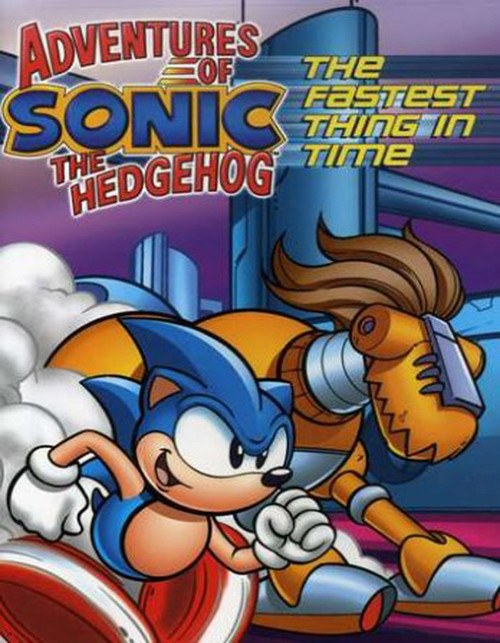 Adventures Of Sonic The Hedgehog Fastest Thing In Time Dvd Savannah Comics