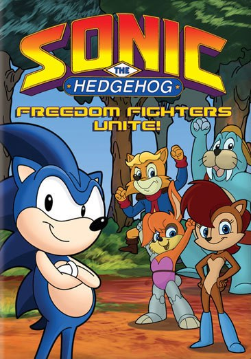 Sonic the Hedgehog: Freedom Fighters Unite! DVD
