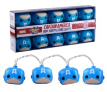 Pop Home Captain America Party String Lights