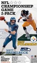 NFL Superbowl 2pk Hasselbeck & Polamalu