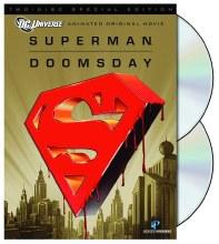 Superman Doomsday DC Universe DVD