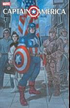 Captain America Red White & Bl