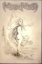 Frank Frazettas Dracula Meets the Wolf-Man Sketch Var Incv