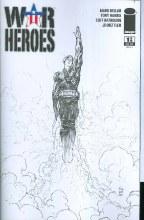 War Heroes #1 (of 6) B&W Silvestri Cvr Incv (Net)
