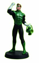 DC Superhero Figurine #4 Green Lantern w/Collectors Magazine
