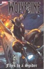 Wolverine TP Flies To a Spider
