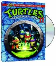 TMNT 25th Teenage Mutant Ninja Turtles II: Secret o/t Ooze DVD