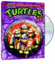TMNT 25th Teenage Mutant Ninja Turtles III: Turtles In Time DVD