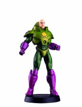 DC Superhero Figurine #11 Lex Luthor w/Collectors Magazine