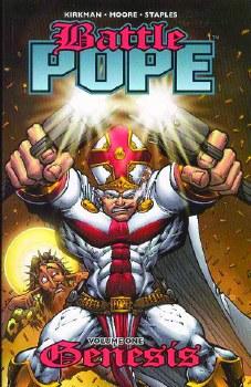 Battle Pope TP VOL 01 Genesis (New Ptg) (Dec088056)